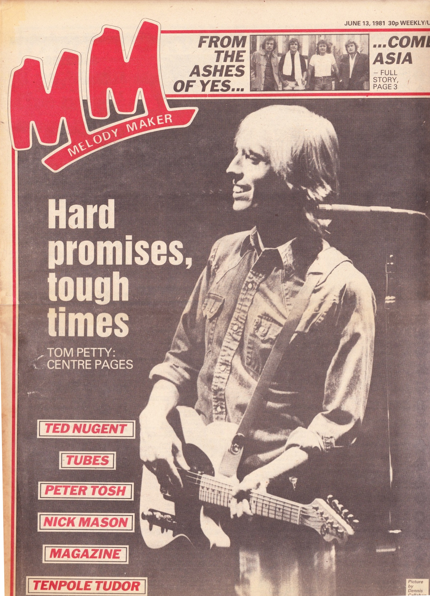 Melody Maker - June 13, 1981 - The Petty Archives