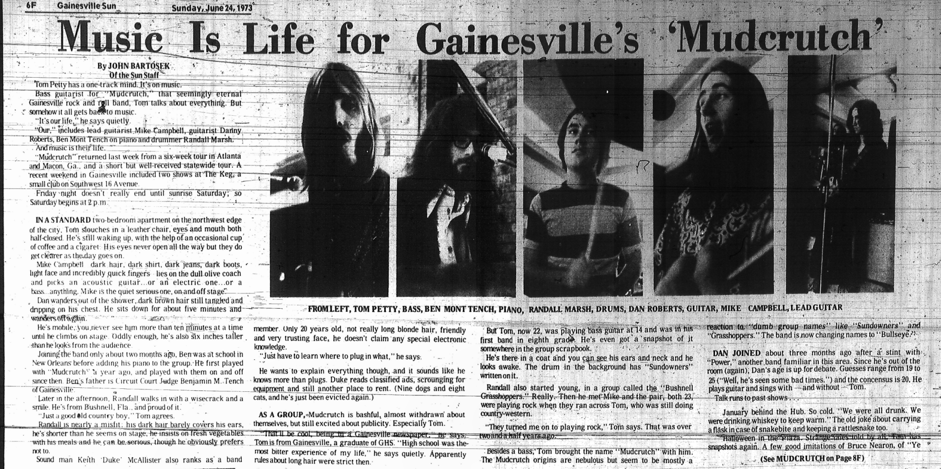 Gainesville Sun - June 24, 1973 - The Petty Archives